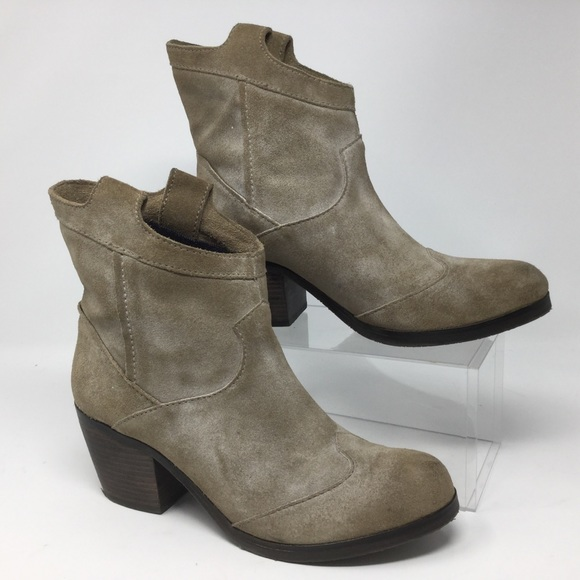 99c8c05eef0b Calvin Klein Jeans Shoes - Calvin Klein Irene Ankle Boots Faux Suede Tan